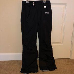 Marker ski pants snow guard Black 4 Petite